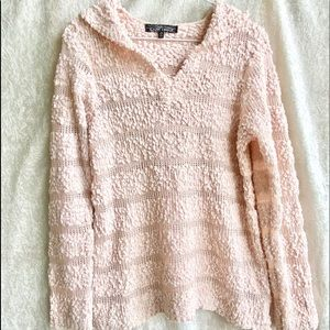 Almost Famous Medium pale pink soft hoodie